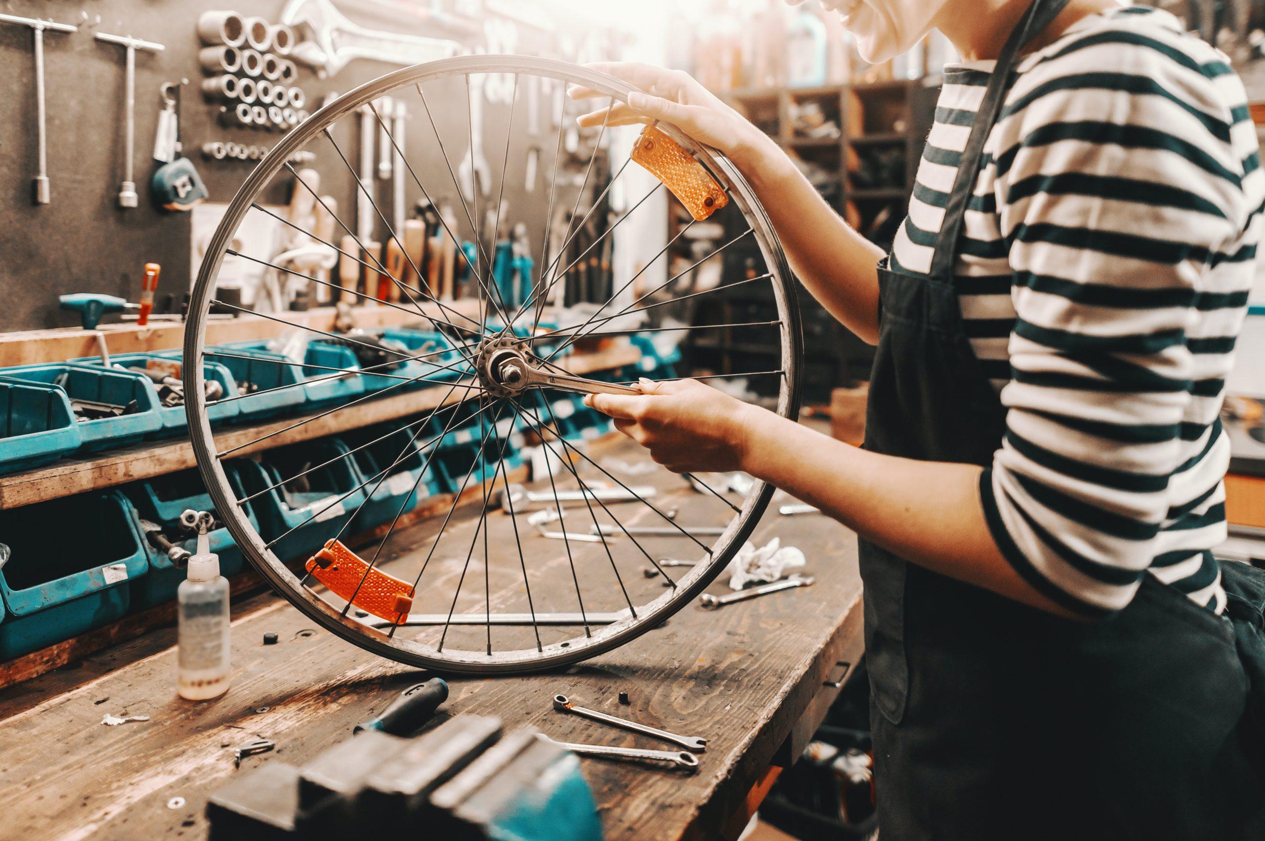 Sovelluskehittäjä pyöräkorjaamo